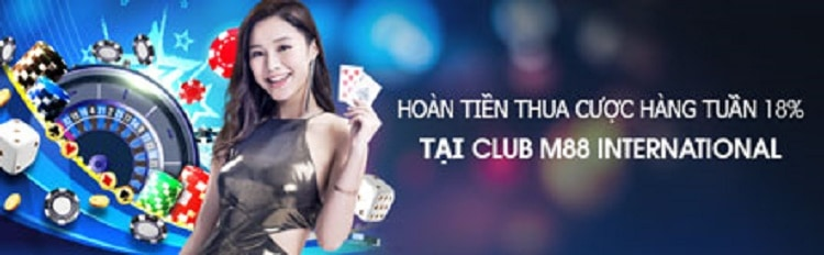 hoàn trả club m88 international